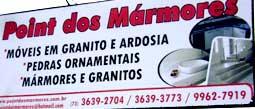 Conheça mais sobre a Marmoraria Point dos Marmores - Ilhéus Bahia